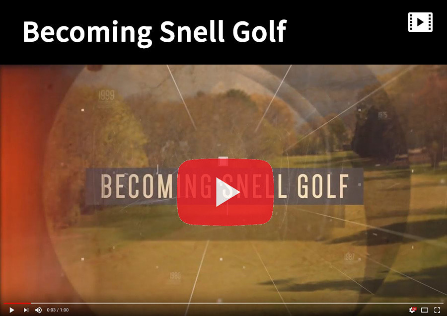 Becoming Snell Golf